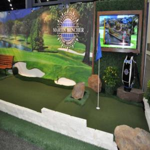 Golf Exhibitor Booth